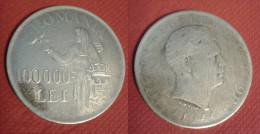 ROMANIA 100000  LEI  1946  ARGENTO - Roumanie