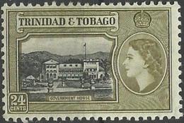 TRINIDAD & TOBAGO..1953..Michel # 163...MLH. - Trindad & Tobago (...-1961)