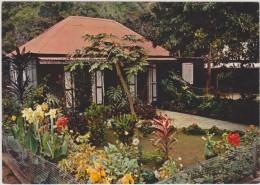 Ile De La Réunion,ile Française,outre Mer,archipel  Mascareignes,océan Indien,case Creole,jardin - Autres