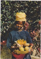 AMERIQUE,ANTILLES,HAITI,i Le  Hispaniola,,ile Découvert Par Christophe Colombe,marché,fruit Du Pays,fille Marchande - Haïti