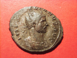 AURELIANUS (270-275) Antoninian IOVI CONSERVATORI Kaiser/Jupiter/Globus TICINUM - 5. Der Soldatenkaiser (die Militärkrise) (235 / 284)