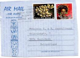 22172 - Fragment Aérogramme De Papouasie Nlle Guinée - Papouasie-Nouvelle-Guinée