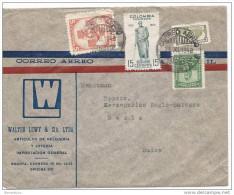 19700 - Enveloppe Envoyée De Colombie En Suisse 1948 - Colombia