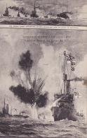 CPA - Marine De Guerre - Combat Naval - Dampfer