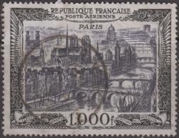 1000Fr Vue De Paris Oblitéré TB (Y&T N° 29 , Cote 30€ ) - 1927-1959 Usati