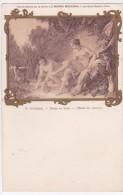 MUSEE DU LOUVRE  .F.BOUCHER   DIANE AU BAIN  C.P.A - Musées