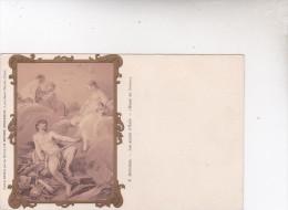MUSEE DU LOUVRE  .F.BOUCHER   LES ARMES  D  ENEE  C.P.A - Musées