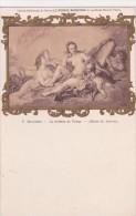 MUSEE DU LOUVRE  .F.BOUCHER   LA TOILETTE DE VENUS   C.P.A - Musées