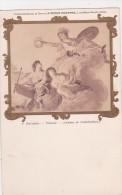 CHATEAU DE FONTAINEBLEAU   .F.BOUCHER   PLAFOND   C.P.A - Musées