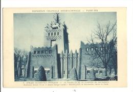 Cp, 75, Paris, Expostion Coloniale Internationale - 1931 - A.O.F., Le Palais Vue De La Terrasse Du Restaurant - Expositions