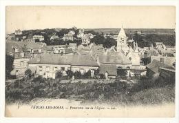 Cp, 76, Veules-les-Roes, Panoram Vue De L'Eglise - Veules Les Roses