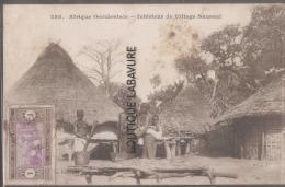 AFRIQUE OCCIDENTALE-SANEGAL--Interieur De Village Saussai - Senegal