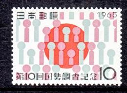 JAPAN   849  *  PEOPLE FLAG - 1926-89 Emperor Hirohito (Showa Era)
