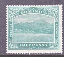 DOMINICA  56  *  Wmk 4 - Dominica (...-1978)