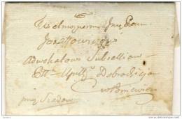 Lithuania . Poniewiesz . Laiskas Advokatui,kad Nukeltu Skola Iki Gris Jos Vyras 1829 - Lithuania
