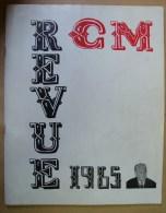 Liv. 104. Revue Cercle De Médecine 1965. La Faculté Recherche Le Burton. Pièce En Trois Actes - Médecine & Santé