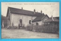 C.P.A. VAL-D'AJOL - Maison Forestiére Du Breuil - Voir Vélos Anciens - France