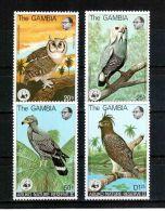 W28 WWF W.W.F. Gambia Bird / Eagle MNH Stamps 1978 - Unused Stamps