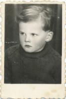 REAL PHOTO, Boy , Portrait, Garçon,   Old Photo - Enfants