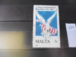 MALTE TIMBRE DE COLLECTION   YVERT N° 697 - Malta