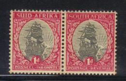 W1176 - SUD AFRICA , DROMMEDARIS Il 1 D In Coppia Bilingue Orizzontale  MNH - Sud Africa (...-1961)