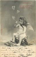 Themes Div - Ref H 474 - Anges  - Ange - Enfant - Enfants -  Bulles De Savon - Jeux D'enfant - - Bergeret