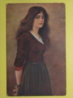 #8764, Lingner: Die Hexe - Malerei & Gemälde