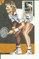 TENNIS  --  ATP TOUR UMAG, CROATIA  ---  1990  --  CARTE MAXIMUM - Yugoslavia