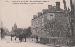 Orne :  SAINT  MICHEL  Des  ANDAINES ( Prés  Bagnoles De L' Orne )  Hôtel  Du  Cheval  Noir Leroux-Pergault - France