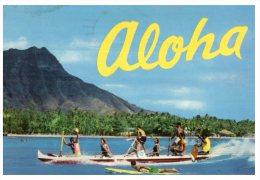(960) Canoe - Barque - Hawaii - Barche