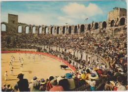 Arles,bouches-du-rhone,le S Arènes,1 Jour De Course Provençale,taureau,jeux,r Espect Des Traditions,la Provence - Arles
