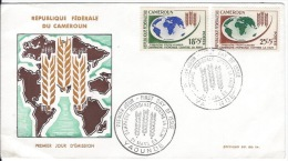 1 Jour Campagne Contre La Fain1963 - Cameroun (1960-...)