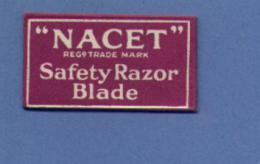 Une Lame De Rasoir  NACET Safety Razor Blades (L25) - Scheermesjes