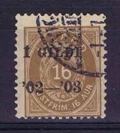 Iceland 1902 Mi Nr 29 B Yv Nr  28A   Used - Gebruikt