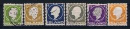 Iceland 1911 Mi Nr 63-68 Yv Nr 62-67  Used - 1873-1918 Deense Afhankelijkheid
