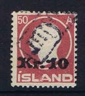 Iceland 1924 Mi Nr 120 Yv Nr 111  Used - 1918-1944 Autonoom Bestuur