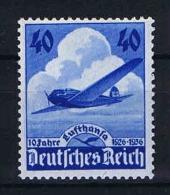 Germany 1936 Mi. Nr. 603 , Yv  A 54, MNH/** Light Fod In Gum - Luftpost