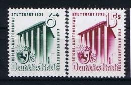 Germany 1939 Mi. Nr. 692-693 , Yv  634-635 , MNH/** - Deutschland