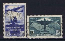 France 1936 Yv 320-321 Used Obl. - Francia