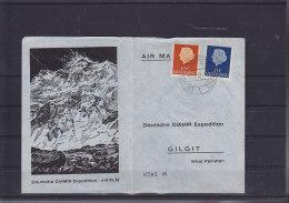 Pakistan Michel Cat.No. Card Deutsche Diamir Expedition (2) - Pakistan