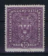 �sterreich 1917  Yv nr 161 MH/*