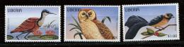 Liberia ** N° 1361 à 1363  - Oiseaux (I) - Liberia