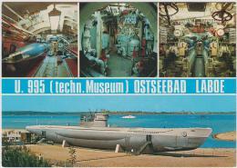 AK - U.995 - Ostseebad Laboe - Baujahr 1943 - Unterseeboote