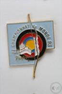Archery World Championship Perpignan France - Pin Badge #PLS - Tiro Al Arco