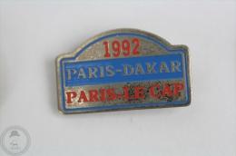 1992 Paris - Dakar, Paris - Le Cap Rally  - Pin Badge #PLS - Rallye