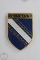 Champagne-Ardenne France - Pin Badge #PLS - Ciudades
