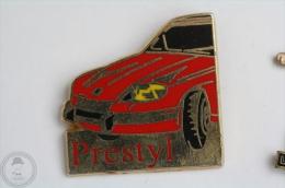 Prestyl Red Colour Car - Pin Badge  #PLS - Pin