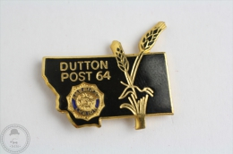 Dutton Post 64 - American Legion - Pin Badge  #PLS - Policia