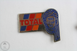 Total - Paris Le Cap 1992 - Pin Badge  #PLS - Rallye
