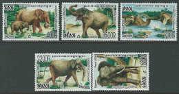 Cambodia 2006 SC 2303-2307 MNH Elephants - Cambodia